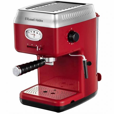 Кафемашина за еспресо с 15 бара налягане Russell Hobbs Retro 28250-56