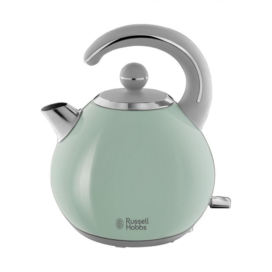 Електрическа кана за вода Russell Hobbs Bubble Soft Green 24404-70 в зелен цвят